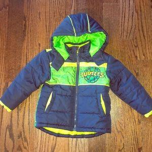 EUC TMNT Winter Jacket size 3T